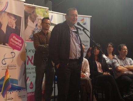ממשיך בתמיכתו בקהילה הגאה. ראש עיריית תל אביב, רון חולדאי צילום - רועי יולדוס רוזנצוייג