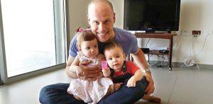 טל רווה ושני ילדיו - צילום פרטי